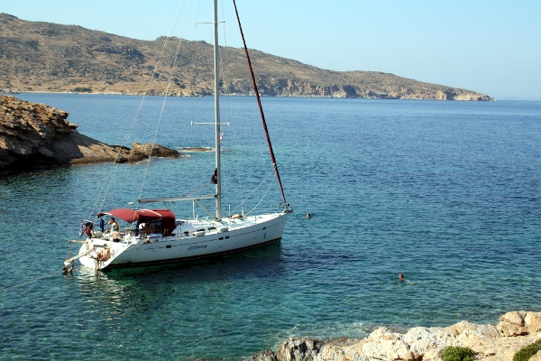 Yacht charters in Ios, Greece
