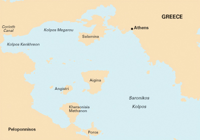 Saronic Gulf Greece, Imray chart G141