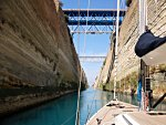 Yacht charters - Corinth canal