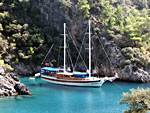 Blue cruises on gulets along the Turquoise coasts of Turkey.