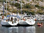 Flotilla cruises: Hydra anchorage