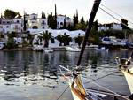 Flotillas in the Saronic and Argolic Gulfs: Spetses port on Spetses island